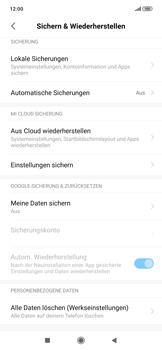 Xiaomi RedMi Note 7 - Gerät - Zurücksetzen auf die Werkseinstellungen - Schritt 5