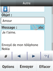 Nokia Asha 300 - E-mail - envoyer un e-mail - Étape 11
