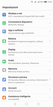 Huawei Y7 (2018) - WiFi - Attivare WiFi Calling - Fase 4