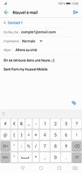 Huawei P20 lite - E-mails - Envoyer un e-mail - Étape 10