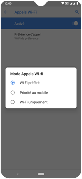 Nokia 7.2 - WiFi - Activez WiFi Calling - Étape 12
