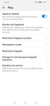 Huawei Y5 (2019) - Messagerie vocale - configuration manuelle - Étape 7