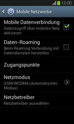 Samsung Galaxy S2 mit Android 4.1 - Ausland - Im Ausland surfen – Datenroaming - 1 / 1