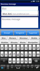 Sony Ericsson Xperia X10 - E-mail - envoyer un e-mail - Étape 5