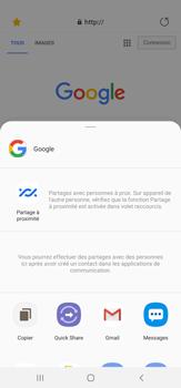 Samsung Galaxy Note20 Ultra 5G - Internet et connexion - Naviguer sur internet - Étape 22