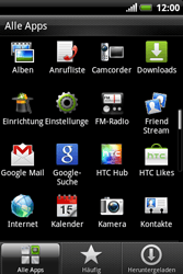 HTC A310e Explorer - MMS - Manuelle Konfiguration - Schritt 3