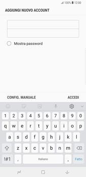 Samsung Galaxy Note9 - E-mail - configurazione manuale - Fase 8