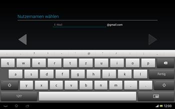 Sony Xperia Tablet Z LTE - Apps - Einrichten des App Stores - Schritt 8