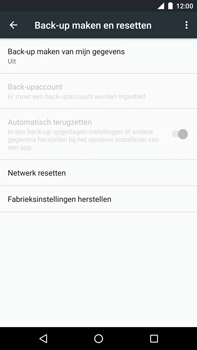 Huawei Google Nexus 6P - Resetten - Fabrieksinstellingen terugzetten - Stap 5
