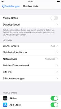 Apple iPhone 7 Plus - iOS 13 - Internet und Datenroaming - Prüfen, ob Datenkonnektivität aktiviert ist - Schritt 4