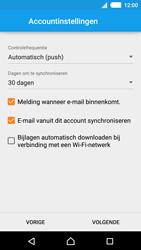 Sony E2303 Xperia M4 Aqua - E-mail - e-mail instellen: IMAP (aanbevolen) - Stap 15