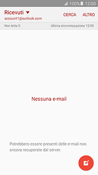 Samsung Galaxy A8 - E-mail - 032c. Email wizard - Outlook - Fase 4