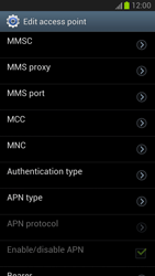 Samsung Galaxy Note II - MMS - Manual configuration - Step 12