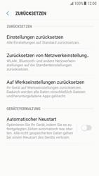 Samsung Galaxy S6 - Android Nougat - Gerät - Zurücksetzen auf die Werkseinstellungen - Schritt 6