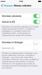 Apple iPhone 5s - iOS 8 - Réseau - Activer 4G/LTE - Étape 5