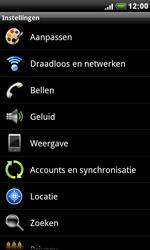 HTC S510e Desire S - wifi - handmatig instellen - stap 4