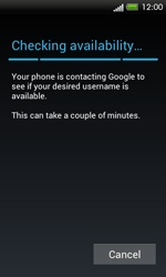 HTC One SV - Applications - Setting up the application store - Step 7