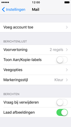 Apple iPhone SE - iOS 10 - E-mail - Account instellen (IMAP zonder SMTP-verificatie) - Stap 4