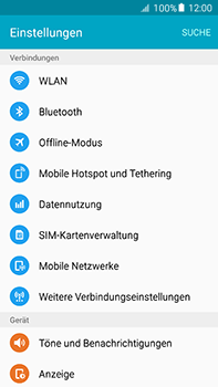 Samsung Galaxy A8 - Internet und Datenroaming - Prüfen, ob Datenkonnektivität aktiviert ist - Schritt 4