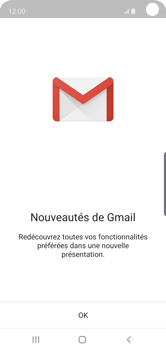Samsung Galaxy S10e - E-mail - 032a. Email wizard - Gmail - Étape 5