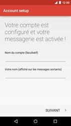 Motorola Moto E (1st Gen) (Lollipop) - E-mails - Ajouter ou modifier un compte e-mail - Étape 24