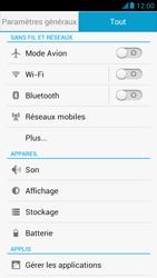 Huawei Ascend G526 - Internet et roaming de données - Désactivation du roaming de données - Étape 5
