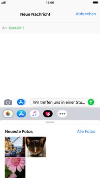 Apple iPhone 8 Plus - iOS 12 - MMS - Erstellen und senden - Schritt 11