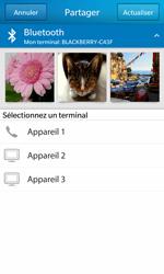 BlackBerry Z10 - Photos, vidéos, musique - Envoyer une photo via Bluetooth - Étape 9