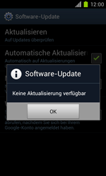 Samsung Galaxy S II - Software - Installieren von Software-Updates - Schritt 9