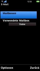 Sony Ericsson U5i Vivaz - E-Mail - Konto einrichten - Schritt 6