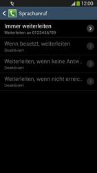 Samsung Galaxy S4 Active - Anrufe - Rufumleitungen setzen und löschen - 11 / 12