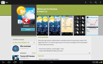 Samsung Galaxy Tab 2 10.1 - Applicazioni - Installazione delle applicazioni - Fase 14