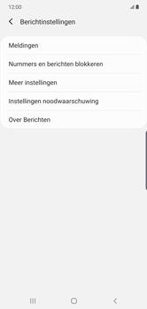 Samsung Galaxy Note 10 Plus - sms - handmatig instellen - stap 6