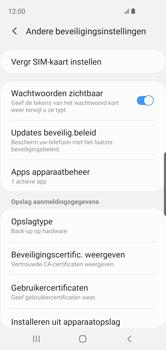 Samsung Galaxy S10e - Beveiliging - pas de pincode voor je simkaart aan - Stap 6