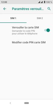 Crosscall Core M4 - Sécuriser votre mobile - Personnaliser le code PIN de votre carte SIM - Étape 7