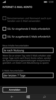 Microsoft Lumia 640 XL - E-Mail - Konto einrichten - Schritt 17