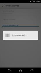 Sony Xperia Z3 - Netzwerk - Manuelle Netzwerkwahl - Schritt 7