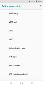 ZTE Blade V9 - Internet - Manual configuration - Step 15