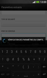 HTC Desire 500 - E-mail - Configurer l