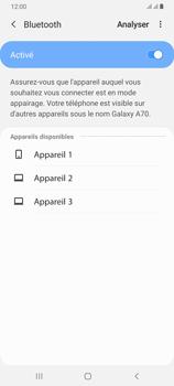 Samsung Galaxy A70 - Bluetooth - connexion Bluetooth - Étape 9