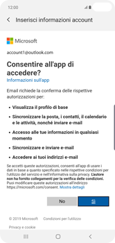 Samsung Galaxy S10 Plus - E-mail - 032c. Email wizard - Outlook - Fase 9