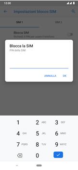 Nokia 7.2 - Operazioni iniziali - Come abilitare il pin della SIM - Fase 9