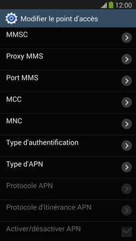 Samsung Galaxy Note III LTE - Internet et roaming de données - Configuration manuelle - Étape 11