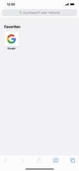 Apple iPhone 12 - Internet und Datenroaming - Verwenden des Internets - Schritt 13