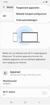 Samsung Galaxy A10 - Internet - mijn data verbinding delen - Stap 8