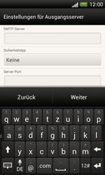 HTC One SV - E-Mail - Manuelle Konfiguration - Schritt 14