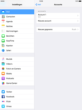 Apple iPad 9.7 (Model A1823) - E-mail - Instellingen KPNMail controleren - Stap 6