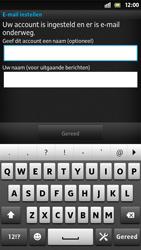 Sony LT26i Xperia S - E-mail - Handmatig instellen - Stap 16