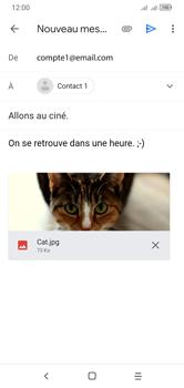 Alcatel 1S (2020) - E-mails - Envoyer un e-mail - Étape 15
