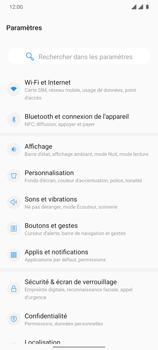 OnePlus 7T - Internet et connexion - Désactiver la connexion Internet - Étape 4